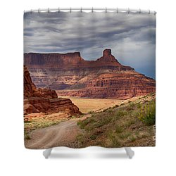 Shower Curtain featuring the photograph In Canyonlands Np by Juergen Klust