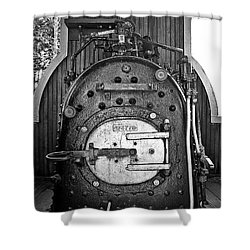 Shower Curtain featuring the photograph In Control B by Sara  Raber