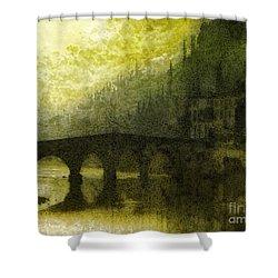 In Fair Verona Shower Curtain by Mo T