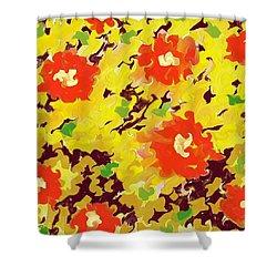 In Full Bloom Shower Curtain