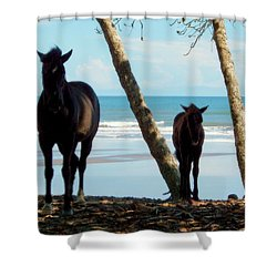 In Her Image Shower Curtain by Karen Wiles