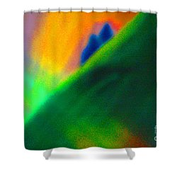 In Love  Shower Curtain by First Star Art