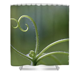 In Love With Nature Shower Curtain by Maria Ismanah Schulze-Vorberg