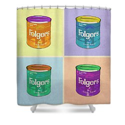 In Loving Memory Of Donny Who Loved Bowling Set Of 4 Variant 1 Shower Curtain by Filippo B