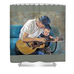 In Memory Of Baby Jordan Shower Curtain