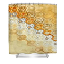 In Motion 1 Shower Curtain