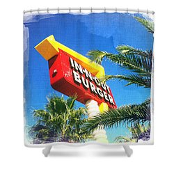 In-n-out Burger Shower Curtain