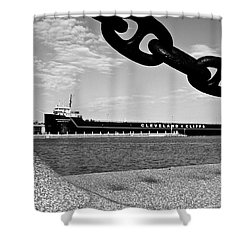 In Port Shower Curtain by Frozen in Time Fine Art Photography
