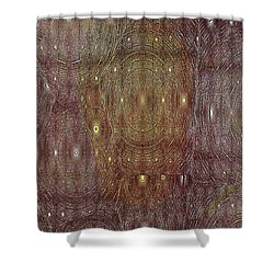 In Portals Of Dreams Shower Curtain by Jeff Swan