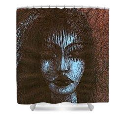 In Quiet Shower Curtain by Wojtek Kowalski