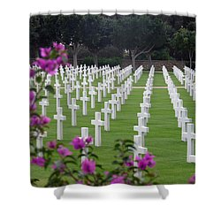 Shower Curtain featuring the photograph In Rememberance by Lucinda Walter