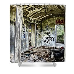 In Ruins Shower Curtain