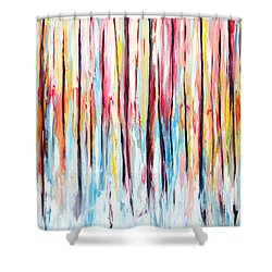 In Sight Shower Curtain by Meaghan Troup