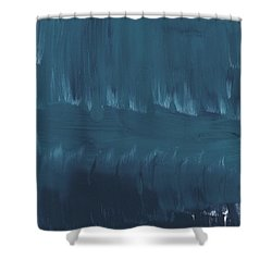 In Stillness Shower Curtain by Linda Woods