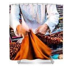 In The Bazaar Shower Curtain