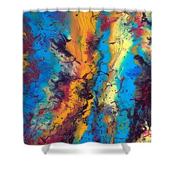 From The Beginning  Shower Curtain