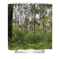 Shower Curtain featuring the photograph In The Bush by Evelyn Tambour