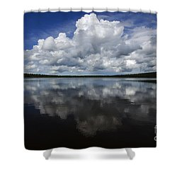 In The Good Old Summertime  Shower Curtain by Bob Christopher