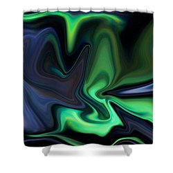 In The Grasp Shower Curtain by Ernie Echols