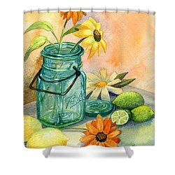 In The Lime Light Shower Curtain