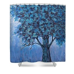 In The Mist Shower Curtain by Suzanne Theis