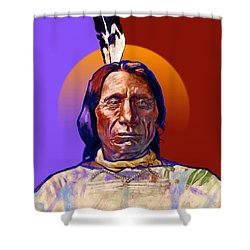 In The Name Of The Great Spirit Shower Curtain