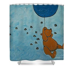 In The Pursuit Of Honey Shower Curtain