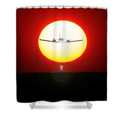 Shower Curtain featuring the photograph In The Sun by Paul Job