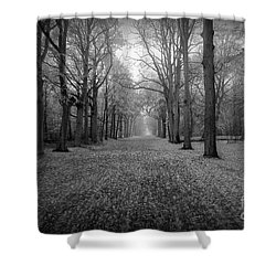 In Your Darkest Hour Shower Curtain by Jacky Gerritsen