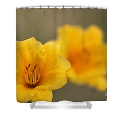 In Your Image Shower Curtain by Jennifer E Doll