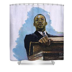 Inalienable Shower Curtain by Colin Bootman