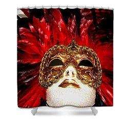 Incognito.. Shower Curtain by Jolanta Anna Karolska