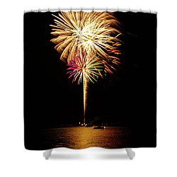 Independence Day Shower Curtain by George Buxbaum