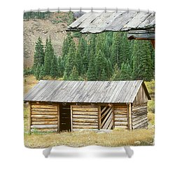 Independence Ghost Town Shower Curtain by David Davis