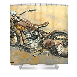 Indian Chief 1938 Shower Curtain