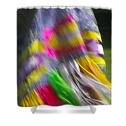 Indian Dance Shower Curtain by Randy Pollard