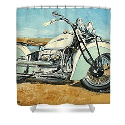 Indian Four 1941 Shower Curtain