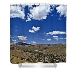 Indian Lodge Shower Curtain