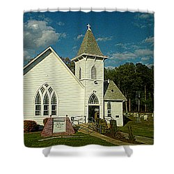 Indian Mission United Methodist Church Harbeson Delaware Shower Curtain
