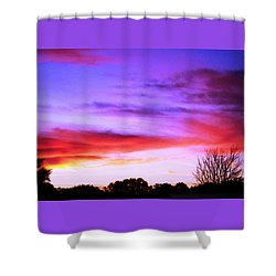 Indian Morning Sky Shower Curtain