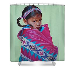 Indian Princess Shower Curtain