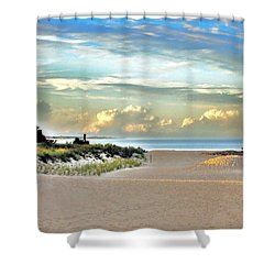 Indian River Inlet - Delaware State Parks Shower Curtain
