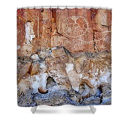 Indian Signs Shower Curtain