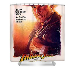 Indiana Jones And The Last Crusade  Shower Curtain