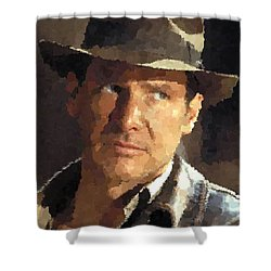 Indiana Jones Shower Curtain