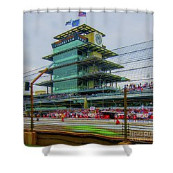 Indianapolis 500 May 2013 Square Shower Curtain