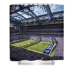 Indianapolis Colts 3 Shower Curtain