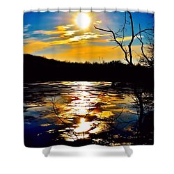 Indianapolis Treasures Shower Curtain