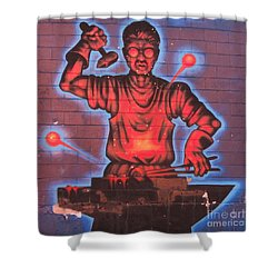 Industry  Shower Curtain by John Malone