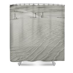 Inevitable Shower Curtain by Laurie Search